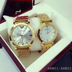 đồng hồ đôi thời trang arm 261