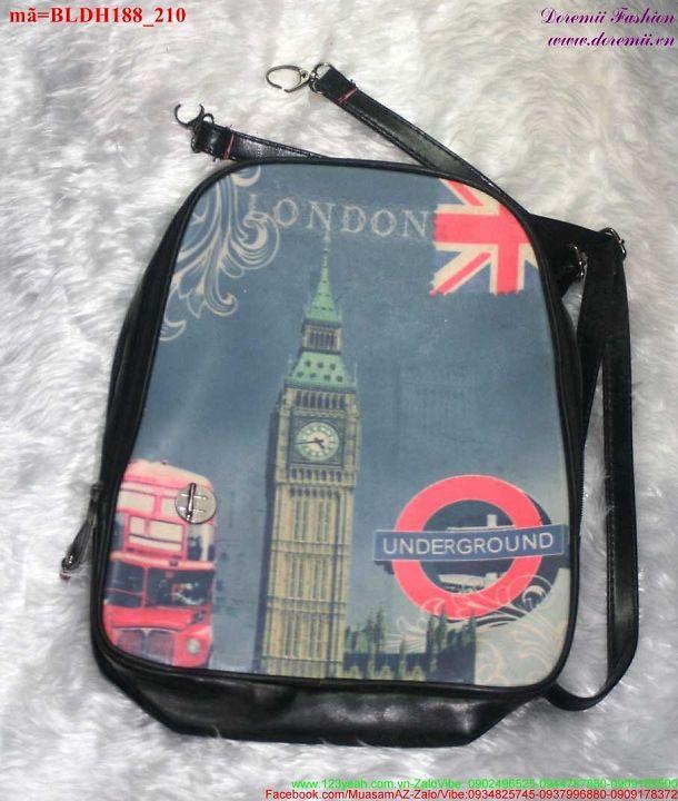 Balo đi học đi chơi tháp London cực đẹp BLDH188 1