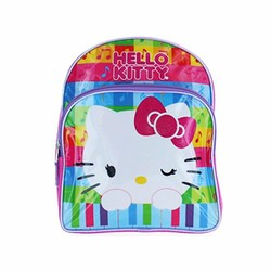 Ba lô bé gái Hello Kitty Musical Rainbow 12 Inch