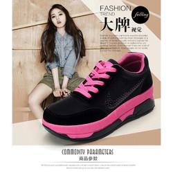 Giày độn gót 6cm