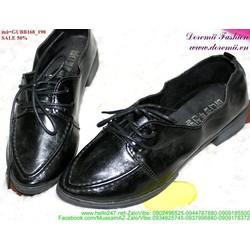 Giảm giá giày oxford da mũi nhọn đơn giản GUBB168