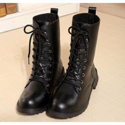 Giày boots nam cảnh sát