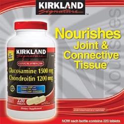 Glucosamine 1500mg Chondroitin 1200mg 220 viên Kirkland Mỹ