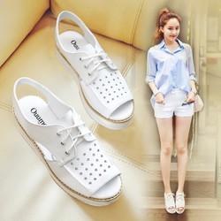 Giày Sandal nữ cá tính thời trang phong cách Hàn Quốc - SG0337