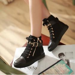 B002D - Giày Boot Nữ Thời Trang Cá Tính