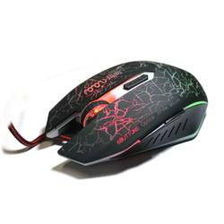 Chuột quang chuyên game có dây X9 có led chuyển màu