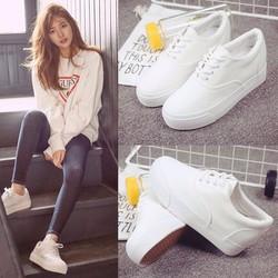 FREE SHIP - Giày nữ nâng đế dễ thương phong cách Hàn Quốc - SG0338