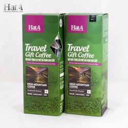 Bộ quà tặng Cà phê và Phin Hata Cafe High Mountain Coffee 200g