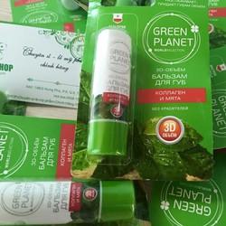 Son dưỡng môi Green Planet chiết xuất từ tinh dầu bạc hà