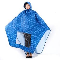 Áo mưa họa tiết thời trang tiện dụng