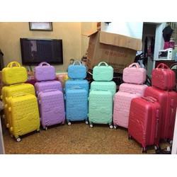 Bộ vali nhựa