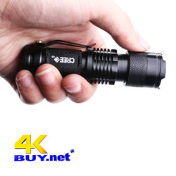 Đèn pin mini bỏ túi-dùng làm đèn pha xe đạp