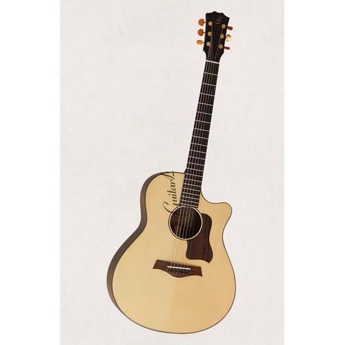 Acoustic guitar Việt Nam dáng Taylor D400 sơn PU mờ