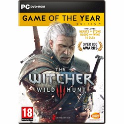 Đĩa game PC The Witcher 3:Wild Hunt - Game of the Year Edition 9DVD