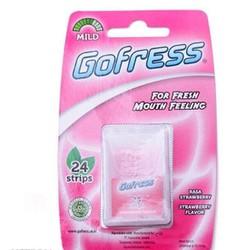 5 Vỹ Kẹo Gofress vị dâu, bạc hà