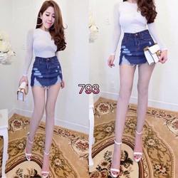 Chân váy jean s,m,l - A27600