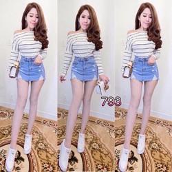 Chân váy jean s,m,l - A27601