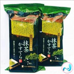 Bánh bông lan trà xanh Maruto - hàng xách tay Nhật Bản