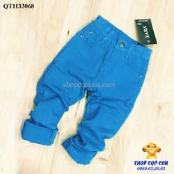 Quần kaki thun màu xanh dương
