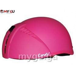 Mũ bảo hiểm cao cấp Canary TP71 - Màu hồng nhám