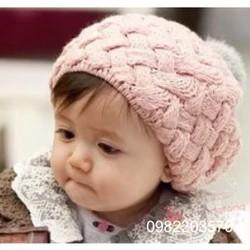 Nón len bánh tiêu cho bé