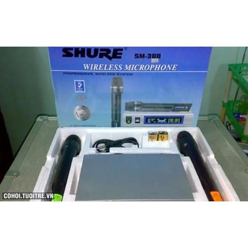 Micro SHURE karaoke không dây SM 388 - 4076194 , 4170012 , 15_4170012 , 800000 , Micro-SHURE-karaoke-khong-day-SM-388-15_4170012 , sendo.vn , Micro SHURE karaoke không dây SM 388