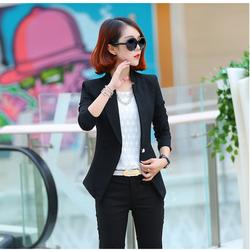 Áo khoác vest nữ cách điệu SV88 Có lót cao cấp