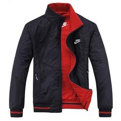 Áo Khoác dù nam mặc được 2 mặt - KB088 đỏ