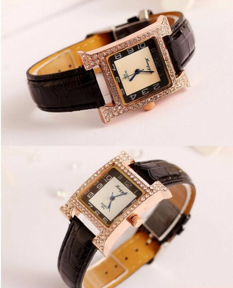 Đồng hồ dây da chính hãng 3