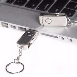 USB 16GB INOX MÓC KHÓA CHỐNG NƯỚC