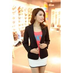 Áo khoác vest nữ SV1 2 Nút Cao cấp - áo 2 lớp