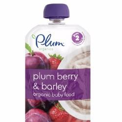 Trái Cây Nghiền Plum Organic Vị Plum Berry