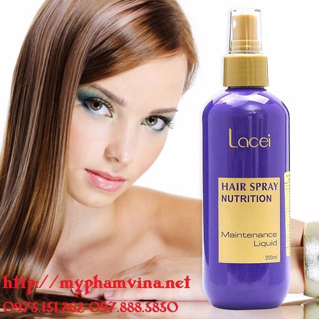 Sữa Dưỡng Lacei Hair Spray Nutrition 200ml 2