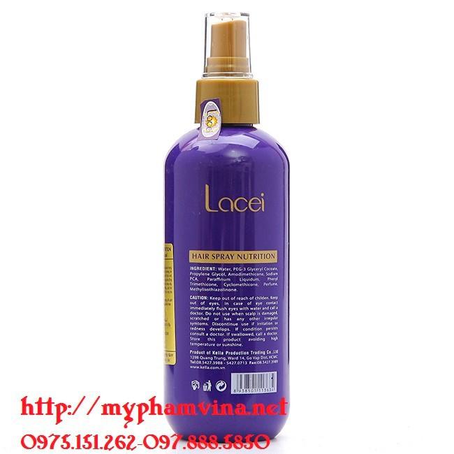 Sữa Dưỡng Lacei Hair Spray Nutrition 200ml 3