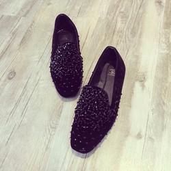 giày mọi đính hạt lấp lánh 1308