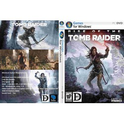 Đĩa game PC Rise of the Tomb Raider 5 DVD