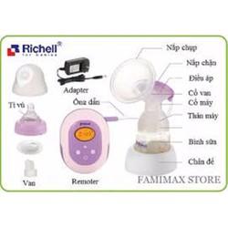 Máy hút sữa điện có massage Richell Nhật Bản 98905