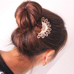 ctx_kt27_trâm cài tóc hoa gắn đá kiểu Hàn Quốc