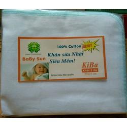 khăn sữa 2 lớp baby sun