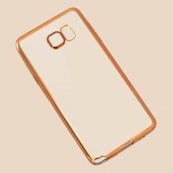 Ốp lưng trong suốt Samsung-Galaxy Note 5 viền màu