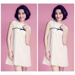 Đầm suông thiết kế đơn giản thoải mái