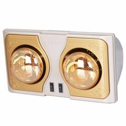 Đèn sưởi nhà tắm loại 2 bóng vàng KM - K2BH