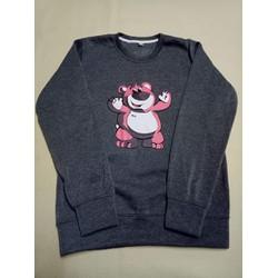 Áo sweater gấu tay dài