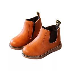 [6-12 tuổi] Giầy boot da cao cấp cho bé