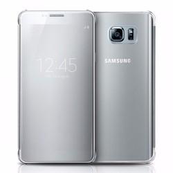 Bao da Clear View Samsung-Galaxy Note 5 màu bạc
