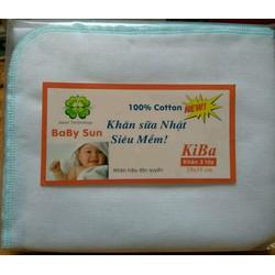 khăn sữa 3 lớp babysun