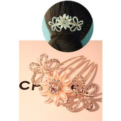 ctx_kt26_trâm cài tóc hoa bướm gắn đá kiểu Hàn Quốc