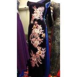 Đầm dạ hội Nhung cao cấp HD1910