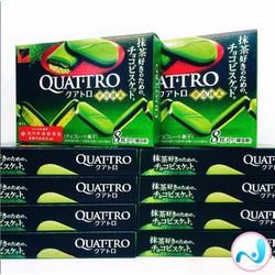 Bánh socola trà xanh Quattro  - hàng xách tay Nhật Bản