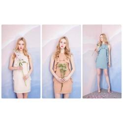 Đầm suông thiết kế đơn giản nhẹ nhàng